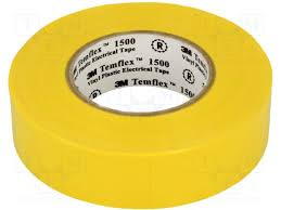 yellow temflex electrical tape in Jamaica