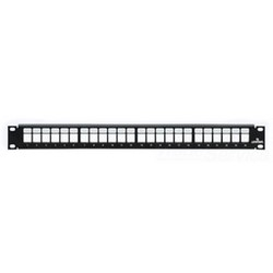 1RU, 24 port Includes Cable Management Bar