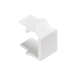 Blank QuickPort Insert, White, Pack of 10